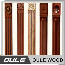 New Design Wood Decorative Furniture Roman Column Pillars