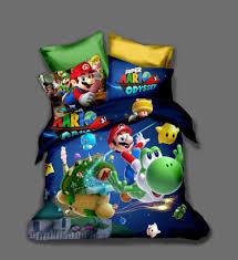 3d super mario bros kids bedding set