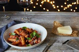 Microsoft Recipes Rigatoni With Slow Cooked Tomato Sauce Balsamic And