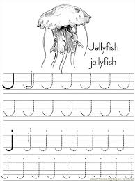 Small Picture Alphabet Abc Letter J Jellyfish Coloring Pages 7 Com Coloring Page