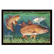 redfish area rug
