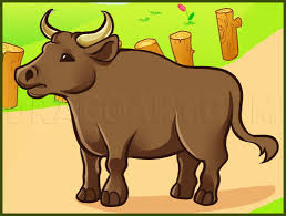 Oxen are used in some countries for pulling. How To Draw An Ox Step By Step Drawing Guide By Dawn Dragoart Com
