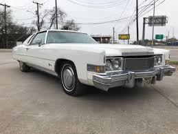 1974 cadillac eldorado clic vine old coupe 2 door triple white