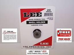 Details About Lee 90020 Lee Auto Prime Hand Priming Tool Shell Holder 20 90020