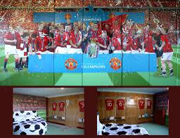 Manchester United Bedroom Mural Portfolio