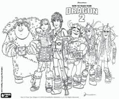I think your kids will have fun while coloring the dragons with you. How To Train Your Dragon Coloring Pages Printable Games
