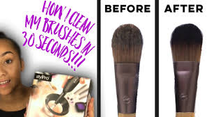 how to clean your makeup brushes in 30 seconds stylpro makeup brush cleaner niah selway