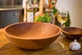 extra large wooden salad bowl designs