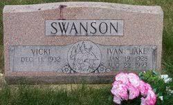 "Albert Ivan ""Jake"" Swanson (1928-1993) - Find A Grave Memorial"