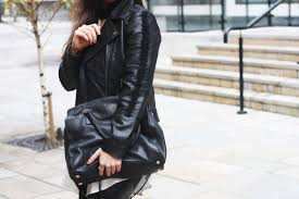 how to wear leather on leather with oasis fashion