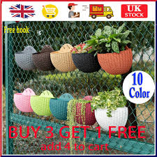 hanging planter plant pots wall mounted