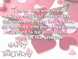 Birthday Quotes For Best Friends On Their Birthday
