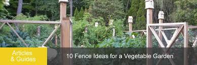 10 fence ideas for a vegetable garden