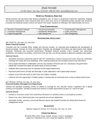 Junior Financial Analyst Resume New Junior Financial Analyst Resume