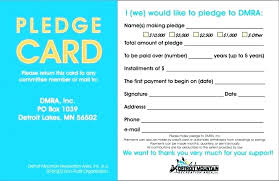 Printable Donation Form Template Donation Form Template For Non Profit