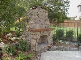 pleasant stone outdoor fireplaces pleasant outdoor fireplace designs for elegant look of garden mycyfi