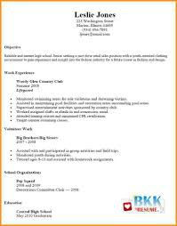 how to write a simple resume 6 how to write a simple resume for a part time job pandora squared