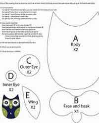 Owl Pattern Custom Over 48 Free Owl Crafts Sewing Crochet Knitting And More At Allcrafts