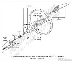 Ford truck technical drawings and schematics section i spoke steering wheel bar blow horn related