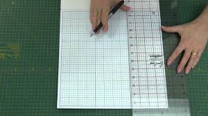how to design a quilt on graph paper sew easy graph paper for quilters and papercraft youtube
