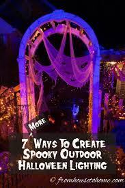 outdoor halloween lighting. 7 More Ways To Create Spooky Halloween Outdoor Lighting | Want Add Some But Need Ideas On What Do? O