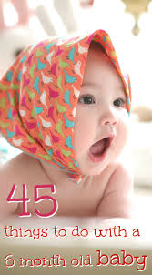 45 Things To Do With A 6 Month Old Baby · Love + Live = Grow