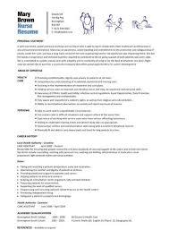 Printable Nurse Resume Download Them Or Print