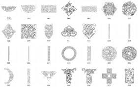 Celtic Symbol Chart Celtic Symbols And Meanings Chart Celtic Symbols And