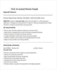 Accounting Resume Templates Delectable 48 Accountant Resume Templates Download Free Premium Templates