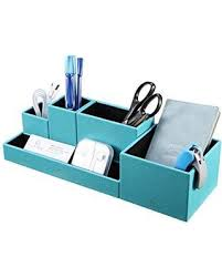 Diy office desk accessories Decorative Vpack Leatherette 5compartment Multifunctional Diy Office Desk Organizer Desktop Stationery Storage Box Better Homes And Gardens Spectacular Savings On Vpack Leatherette 5compartment