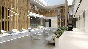 office lobby design. Lobby Hall Foyer Office Commercial Business Scene Interior 3D Design O