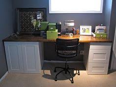 ikea cabinets office. Brilliant Office Craft Desk From IKEA Kitchen Cabinets And Countertop On Ikea Cabinets Office F