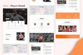 Bolo Template Bolo Player Detail Email Newsletter Template Psd Download