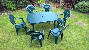 plastic garden table and chairs plastic garden table and chairs garden table chairs and parasol set green plastic in plastic deck plastic garden table and