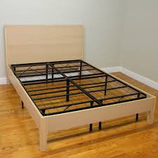 hercules twinsize  in h heavy duty metal platform bed frame