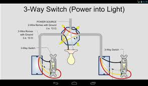 3 way switch wiring power at light images way switch wiring power way switch diagram