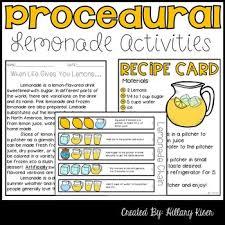 Procedural Text Activities Worksheets Teachers Pay Teachers