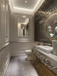 glamorous small bathroom decoration presenting agreeable design mirrored closet