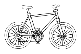 Small Picture Bicycle Coloring Pages And Bike Coloring Pages itgodme