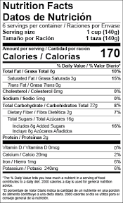 Nutrition Labels Template Us Fda Nutrition Facts Labels Food Labeling Software