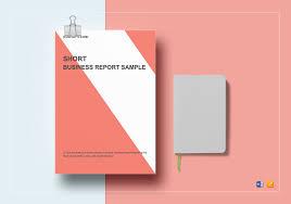 Short Business Report Sample Short Business Report Template