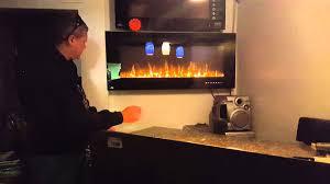 napoleon allure electric fireplace
