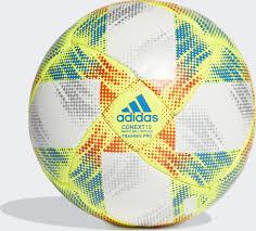 <b>Мяч</b> футбольный <b>Adidas Conext</b> 19 Training Pro, белый, желтый ...