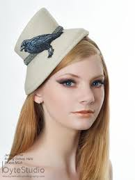 Boring Sidney Hats and Headdresses Model: Jenny Porter MUA: BKaye MUA |  Hats, Headdresses, Model