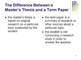 difference between thesis research paper apa format for essay  letter writing templates for students