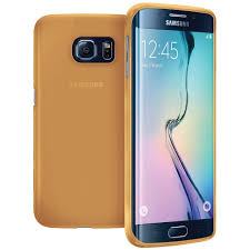 samsung galaxy s6 gold case. flexi slim case for samsung galaxy s6 edge plus - smoke gold (matte) m