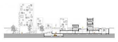 basement parking section. Perfect Parking Longitudinal Section To Basement Parking Section