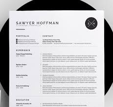 Cool Resume Templates Beauteous 48 Creative and Appropriate Resume Templates for the NonGraphic