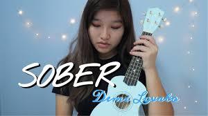 Sober - Demi Lovato // Ukulele Cover - YouTube