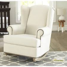 Shermag Bedroom Furniture Shermag Deluxe Mckinley Rocker Chair Driftwood Finish Beige